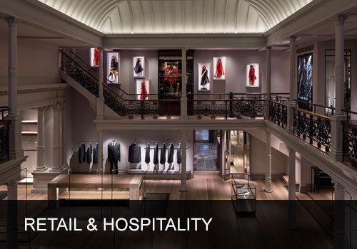 Lighting Design for Retail & Hospitality Sector